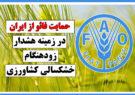 حمایت فائو از ایران در زمینه هشدار زودهنگام خشکسالی کشاورزی