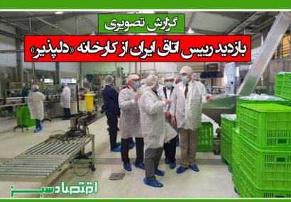 گزارش تصویری / بازدید رییس اتاق ایران از کارخانه «دلپذیر»