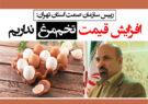 افزایش قیمت تخممرغ نداریم