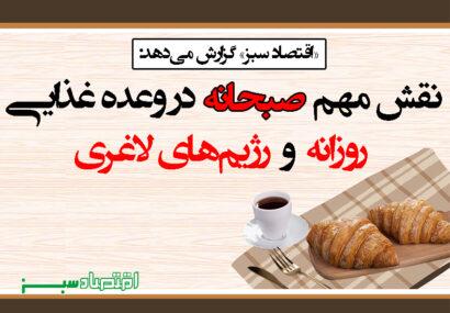 نقش مهم صبحانه در وعده غذایی روزانه و رژیمهای لاغری