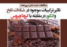 تاثیر ترکیبات موجود در شکلات تلخ و انگور در مقابله با کرونا ویروس