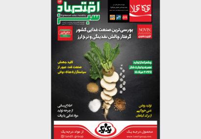 بررسی چالشهای بورسیترین صنعت غذایی کشور در «اقتصادسبز»