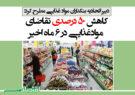 کاهش ۵۰ درصدی تقاضای موادغذایی در ۶ ماه اخیر