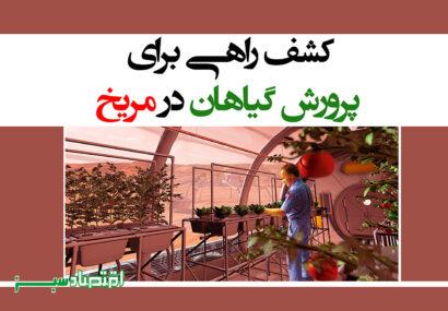 کشف راهی برای پرورش گیاهان در مریخ