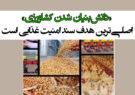 «دانشبنیان شدن کشاورزی» اصلیترین هدف سند امنیت غذایی است