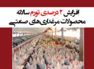 افزایش ۲ درصدی تورم سالانه محصولات مرغداریهای صنعتی